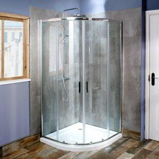 Seis Quadrant Sliding Shower Enclosure by Cassellie