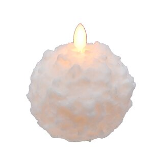Snowball Novelty Candle (Set of 2)