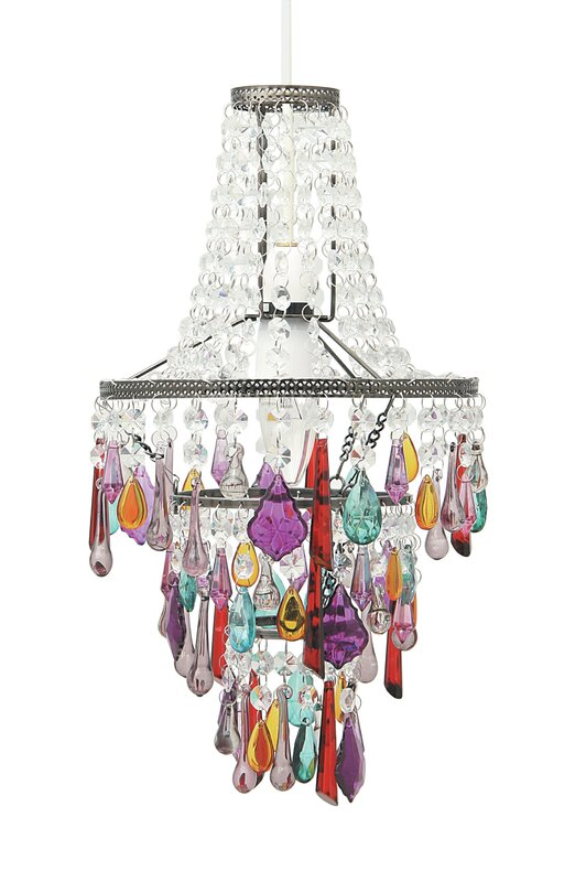 Latitude vive 225cm chandelier lamp shade reviews wayfair 225cm chandelier lamp shade aloadofball Gallery