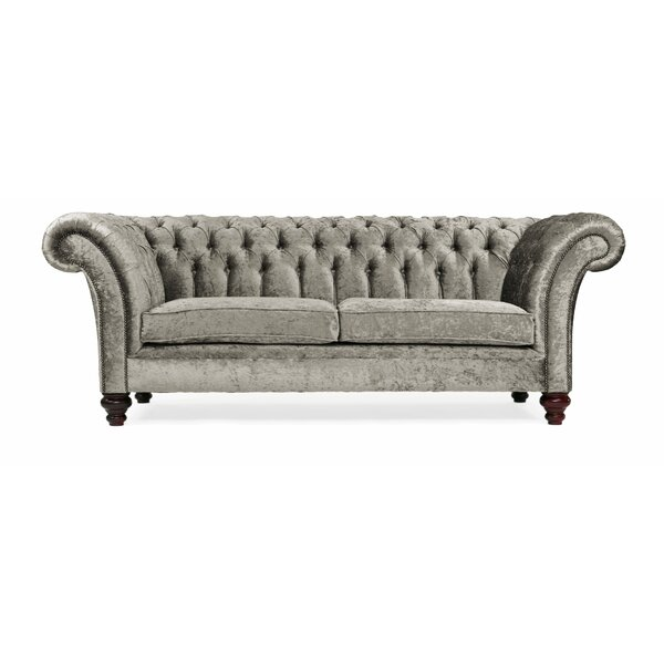 Portabello Interiors Milano 2 Seater Chesterfield Sofa& Reviews Wayfair co uk