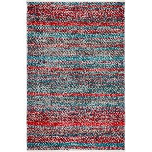 Estate Hand Woven Multi Colored Indoor Outdoor Area Rug