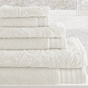 Jarred 6 Piece Cotton Towel Set