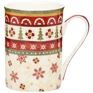 Christmas Bone China Mug