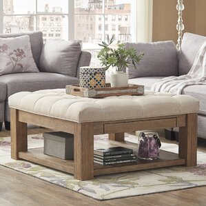 back east tufted ottoman - Tufted Ottoman Coffee Table