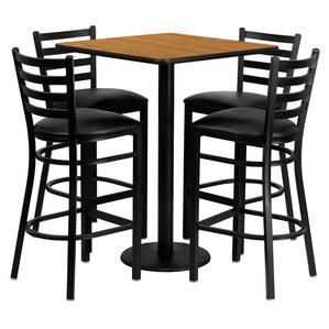 Akriti 5 Piece Pub Table Set by Red Barrel Studio