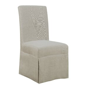 Benton Harbor Parsons Upholstered Dining Chair (Set of 2) by Red Barrel Studio