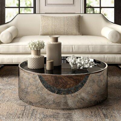 Jonathan Adler Alphaville Coffee Table With Tray Top | Wayfair