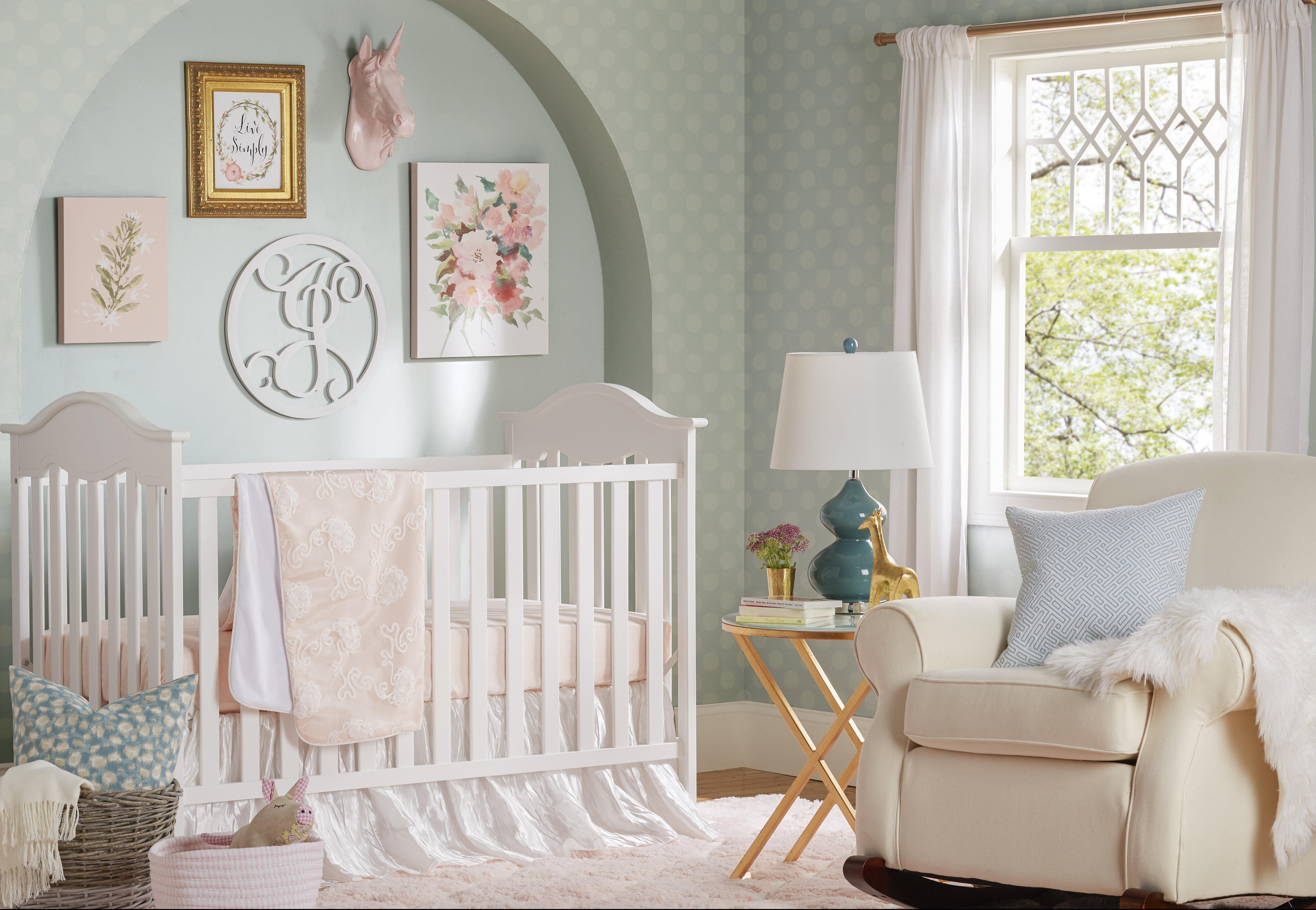 18cf19142d15 Harriet Bee Stewartville 3 Piece Crib Bedding Set   Reviews