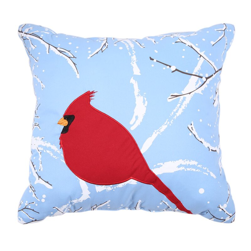 Affluence Home Fashions Holiday Embroidered Throw Pillow & Reviews Wayfair.ca