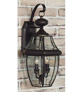 Mellen 2-Light Outdoor Wall Lantern