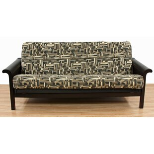 Geometric Box Cushion Futon Slipcover