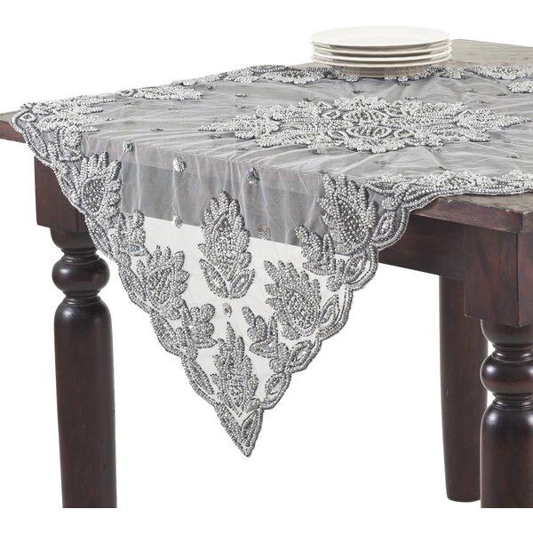 Attractive Saro Lakshmi Hand Beaded Tablecloth U0026 Reviews | Wayfair