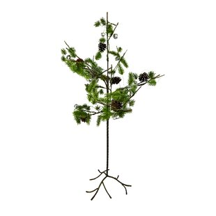 mini x mas 35 greenbrown artificial christmas tree
