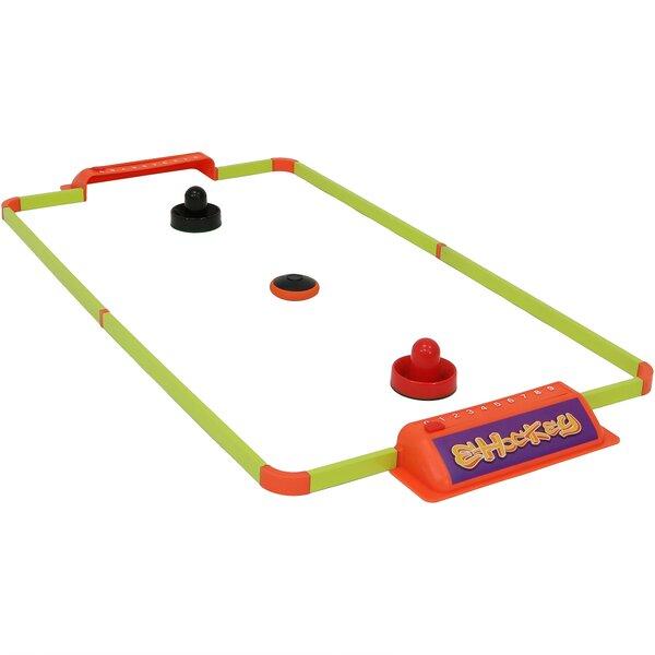 Sunnydaze Decor 40 Portable Hover Tabletop Air Hockey Game Set