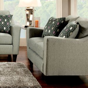 Violette Modern Loveseat by Hokku Designs