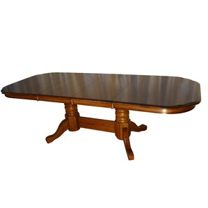 Templepatrick Solid Oak Extendable Dining Table by Darby Home Co