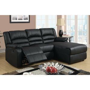 Reclining Sectional  sc 1 st  Wayfair : black reclining sectional - islam-shia.org