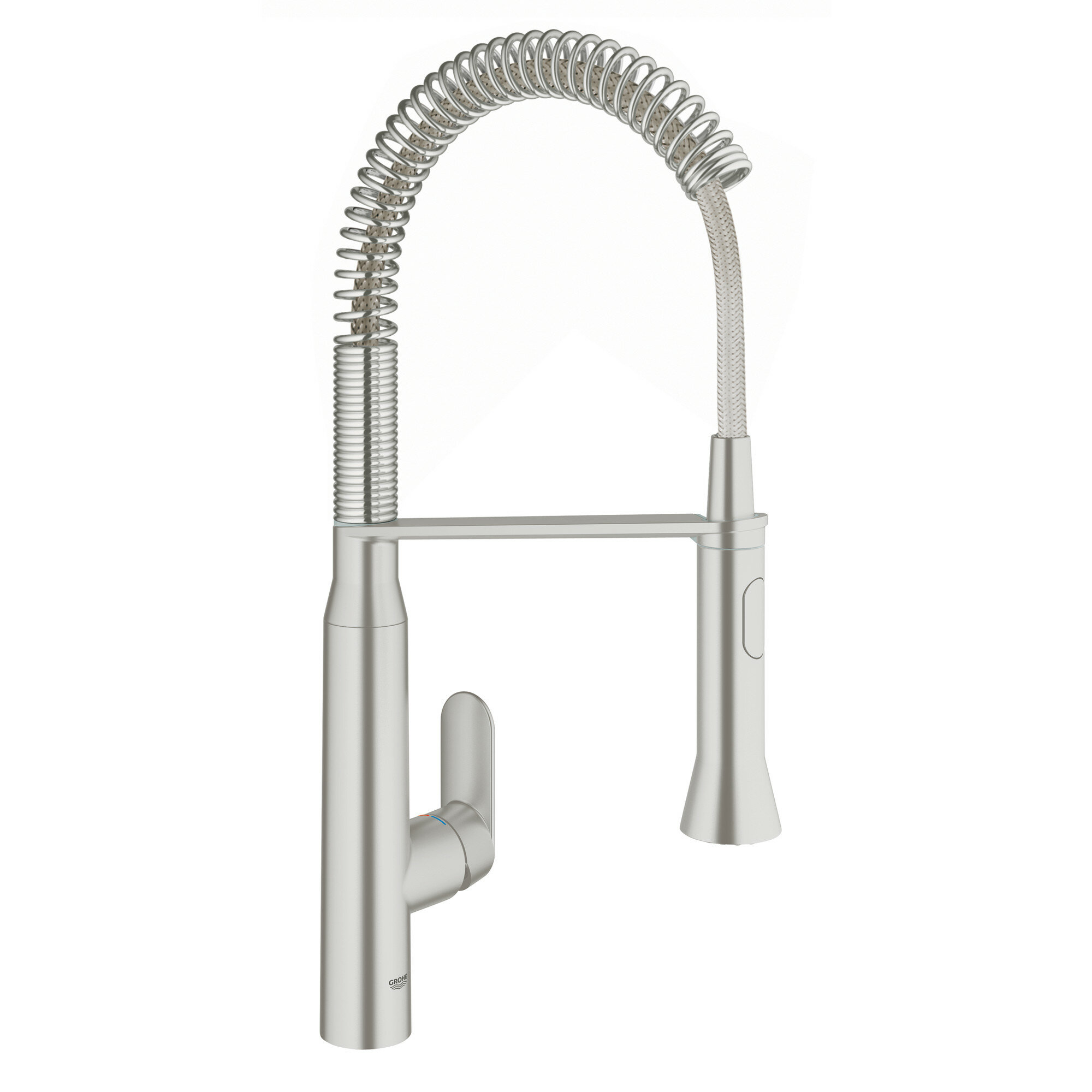 Grohe K7 Single Handle Kitchen Faucet with SilkMove® & Reviews | Wayfair