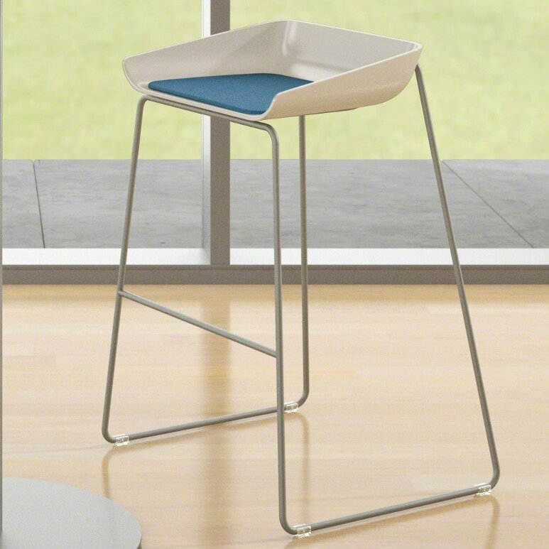 Steelcase Scoop Bar Stool Amp Reviews Wayfair