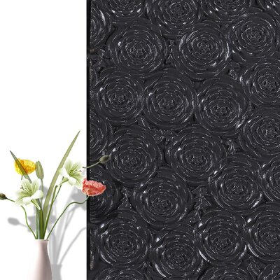 Peel and Stick Vinyl Wall Paneling e-Joy Color: Black