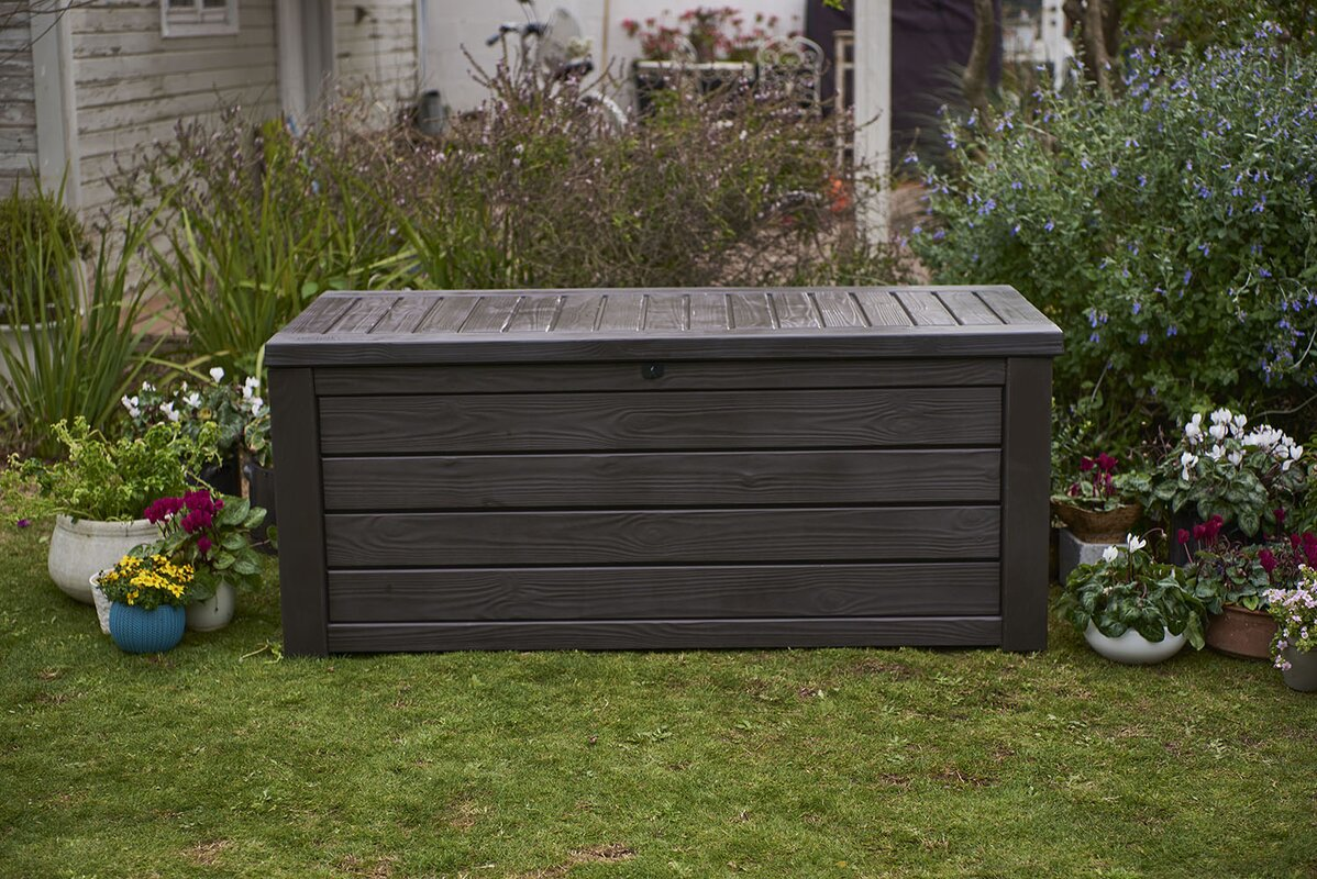 Diy Outdoor Wood Storage Box
