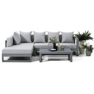 4 Sitzer Lounge Set Matylda Mit Polster