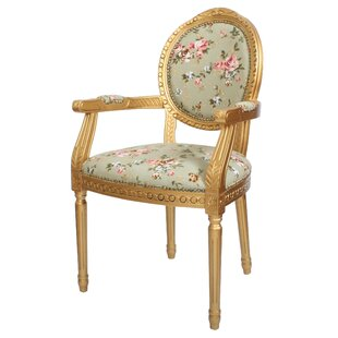 Superior Louis Floral Upholstered Dining Chair