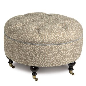 Rayland Parrish Fawn Ottoman by Eastern Accents