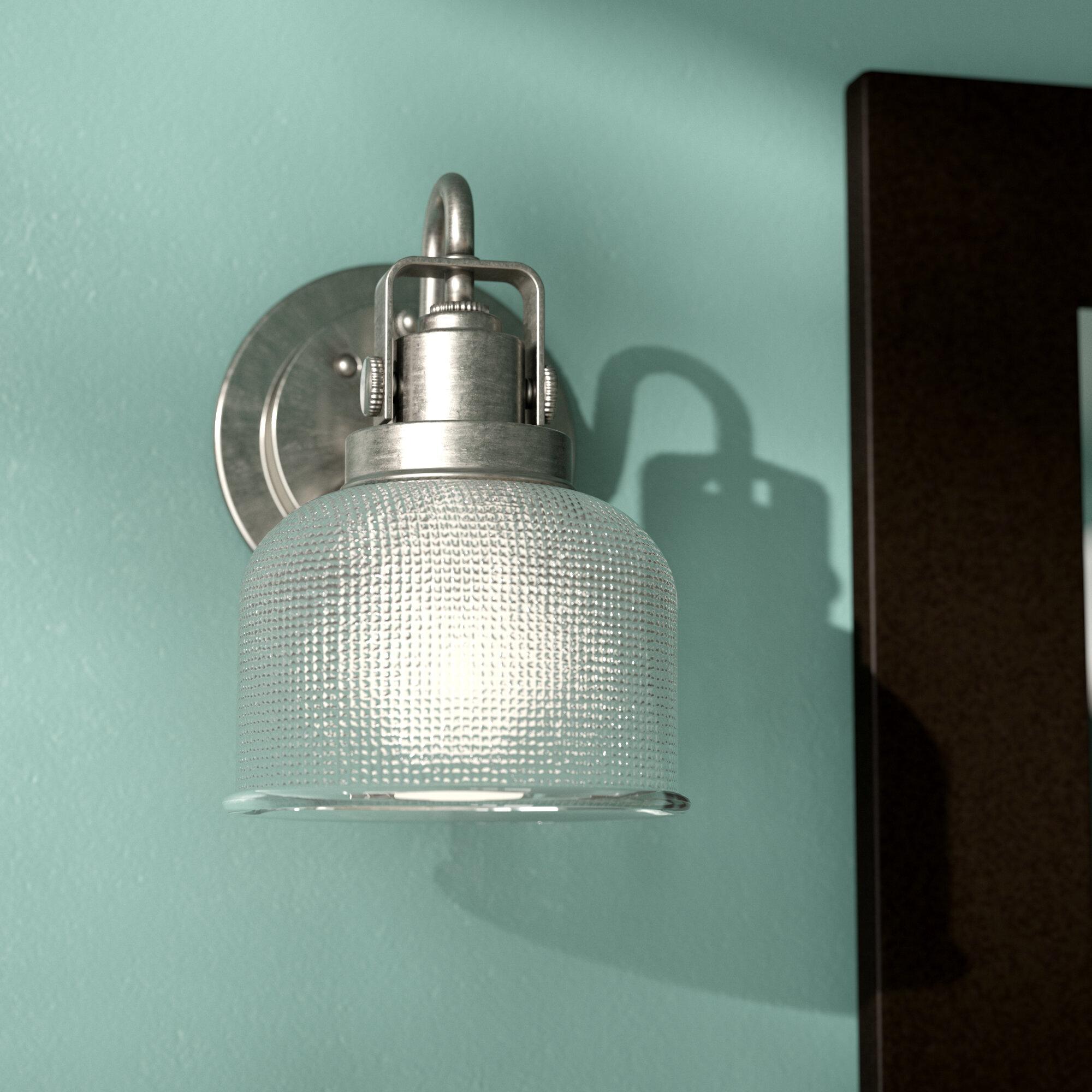 Beachcrest Home Gotha 1-Light Bath Vanity Light & Reviews | Wayfair
