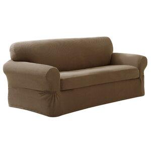 Box Cushion Loveseat Slipcover Set