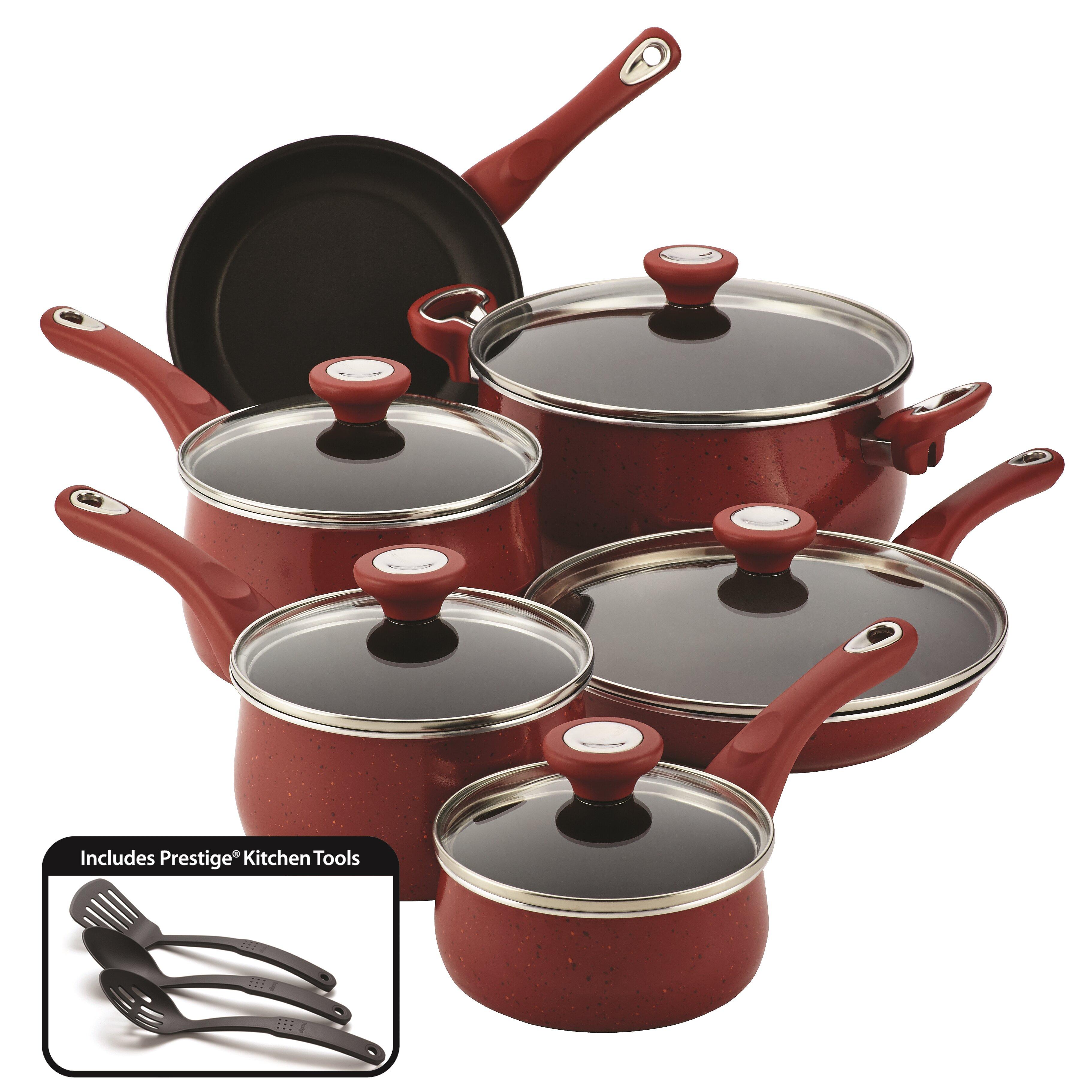 Farberware New Traditions 14 Piece Cookware Set & Reviews | Wayfair