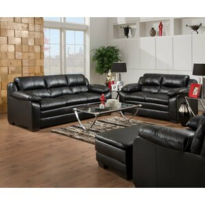 Leather Living Room Sets You\'ll Love | Wayfair
