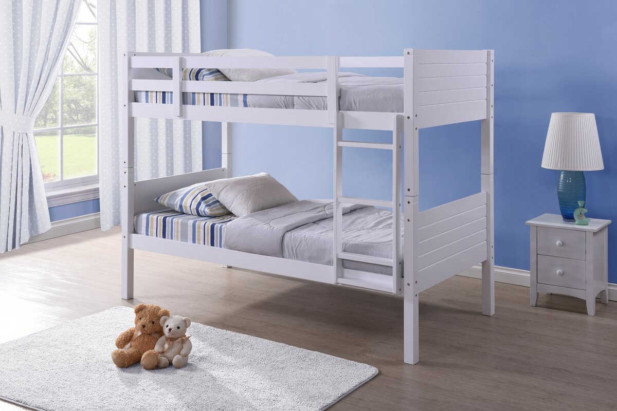 Just Kids Bedford Single Bunk Bed Reviews Wayfaircouk
