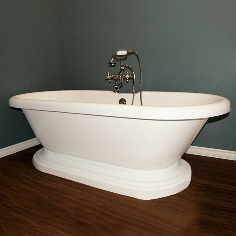 Adep Wh 70 X 31 Freestanding Bathtub In Yes