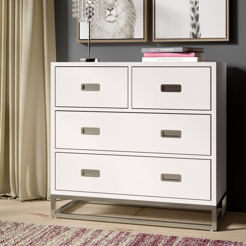 Greyleigh Tazewell 4 Drawer Dresser