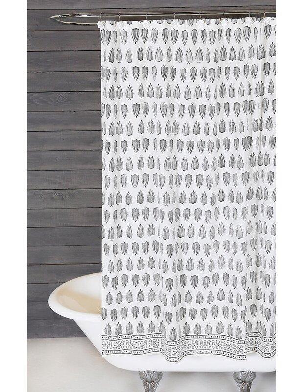 Kiara Cotton Shower Curtain