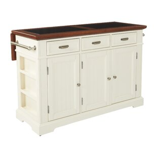 Cintron Large Kitchen Island with Granite Top