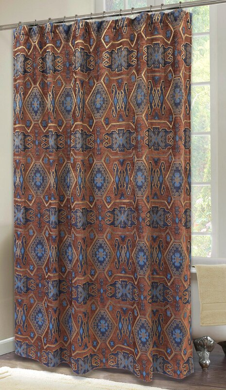 Beautiful Celeste Desert Shower Curtain