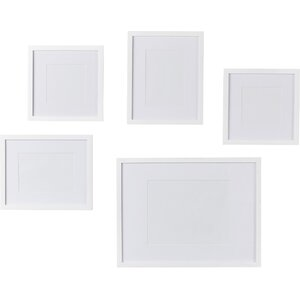 save to idea board black white - White Picture Frame Set