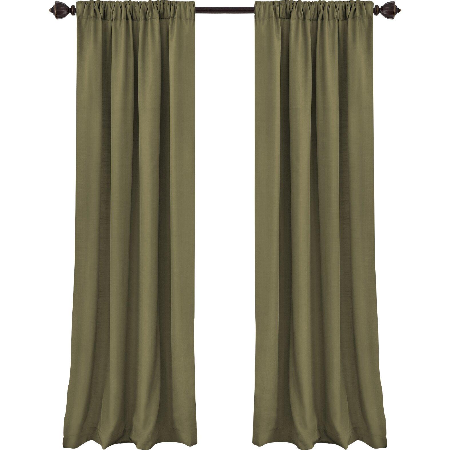 Astoria Grand Morane Cachet Solid Blackout Single Curtain
