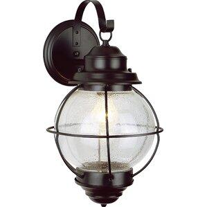 Laila 1-Light Outdoor Wall Lantern