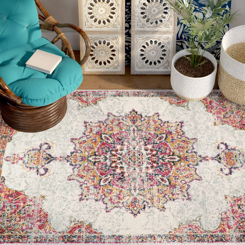 Mistana Darchelle Beige Pink Area Rug Amp Reviews Wayfair