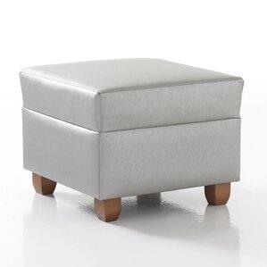 Crosby Square Ottoman in Grade 4 Fabric by Studio Q Furniture