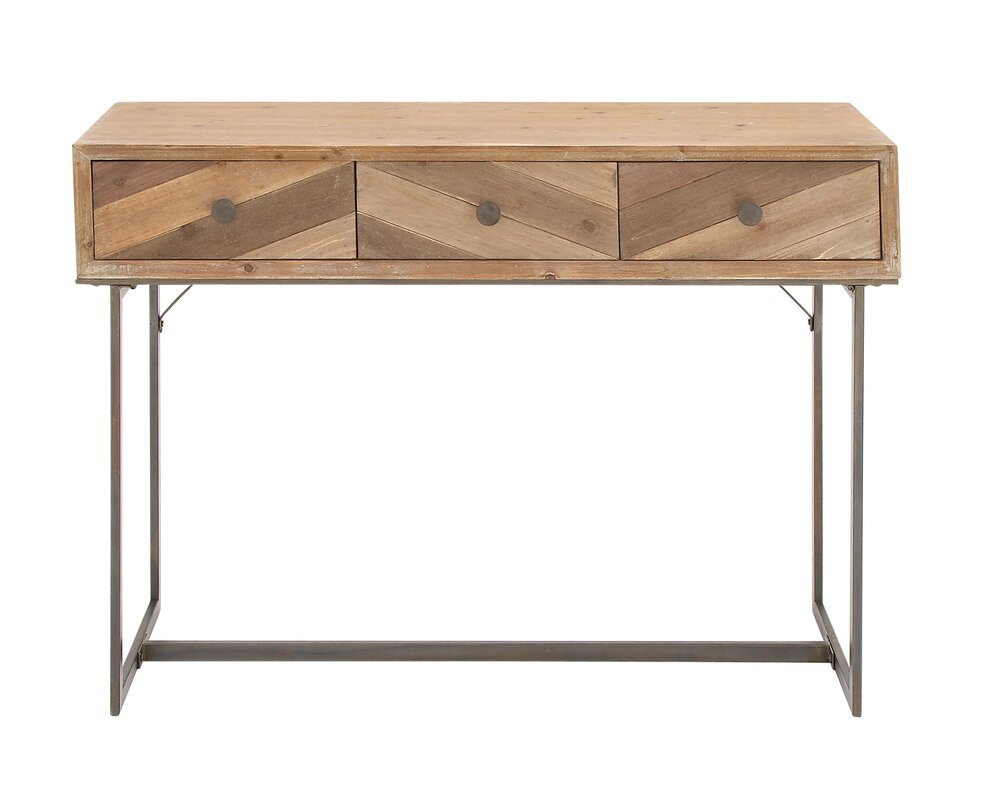 metal console table. wood and metal console table i
