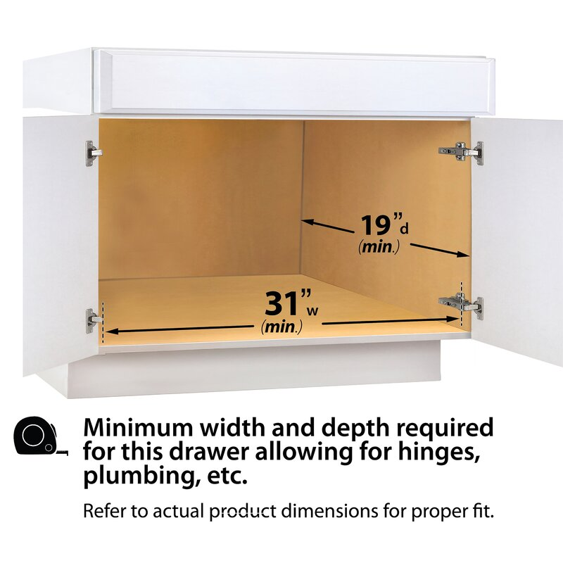 Under Sink Shelf Shelves That Slide Cabinet Pull Out: Lynk Lynk Professional® U-Shaped Roll Out Under Sink