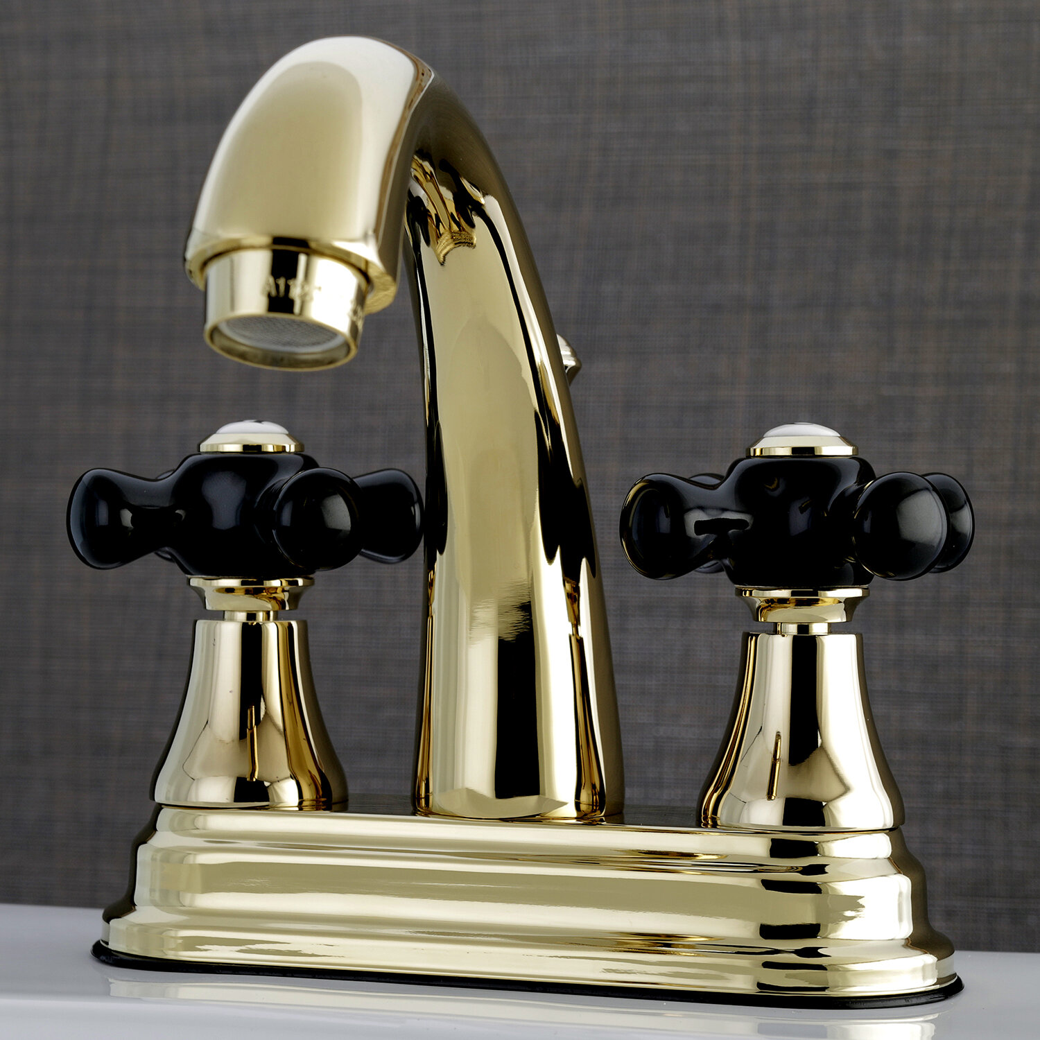 Kingston Brass Duchess Centerset Lavatory Faucet with Drain Assembly ...