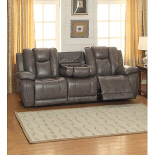 Leather Sofa With Cup Holder Wayfair