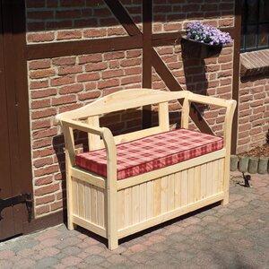 2-Sitzer Friesenbank mit Kissenbox und Sitzauflage von dCor design