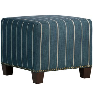 Marshville Nail Button Ottoman by Breakwater Bay