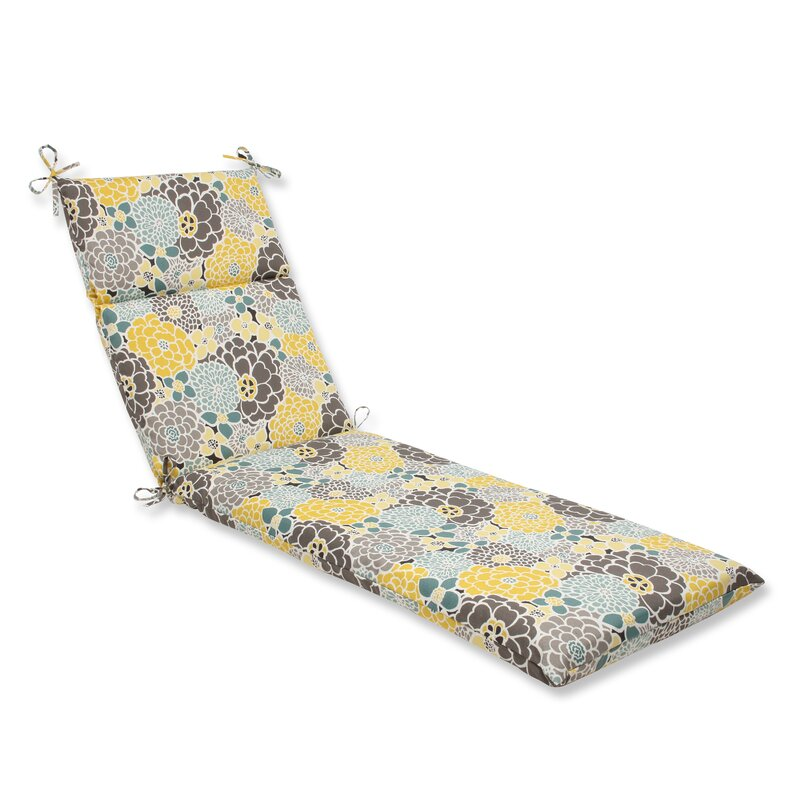 August Grove Gillette Outdoor Chaise Lounge Cushion